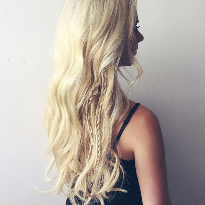 Peeck-a-Boo Braided Hairstyles for Women