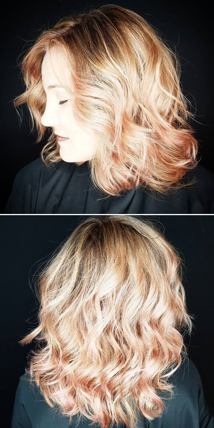 41 Modern Chic Layered Hairstyles For Short Medium And