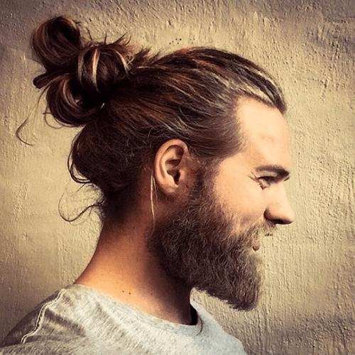different man bun styles