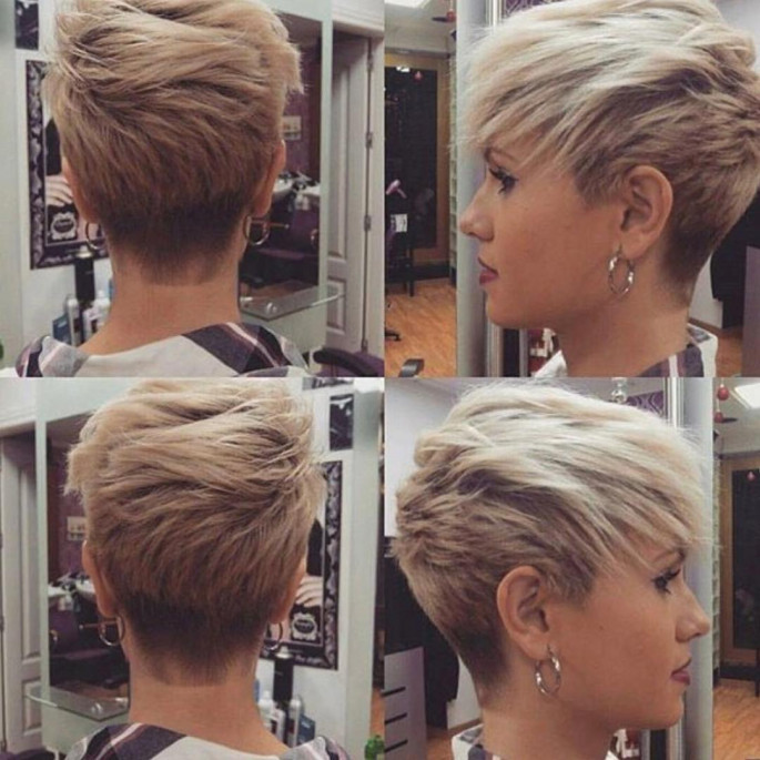 Super Edgy Haircut Short Hairstyles Ideas for Women