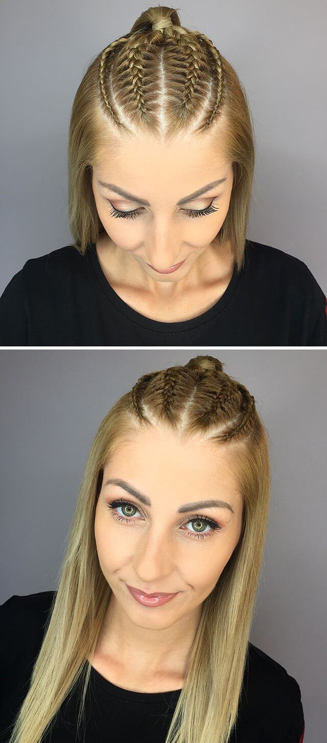 Ponytail Women Hairstyles Collection