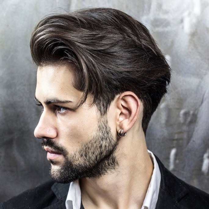 Modern Cut Long Hairstyles For Men