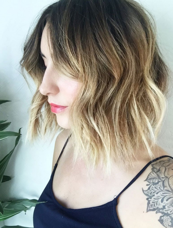 Tousled Layers Short Curly Hairstyles & Haircuts for Women