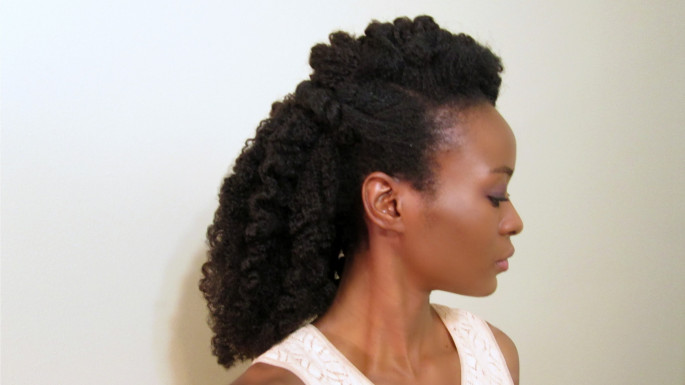 Fluffy Twist Out Crochet Braid Hairstyles for Women
