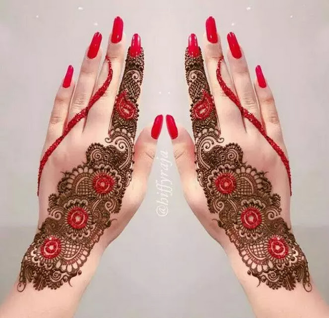 Latest Eid Mehndi Designs for hands