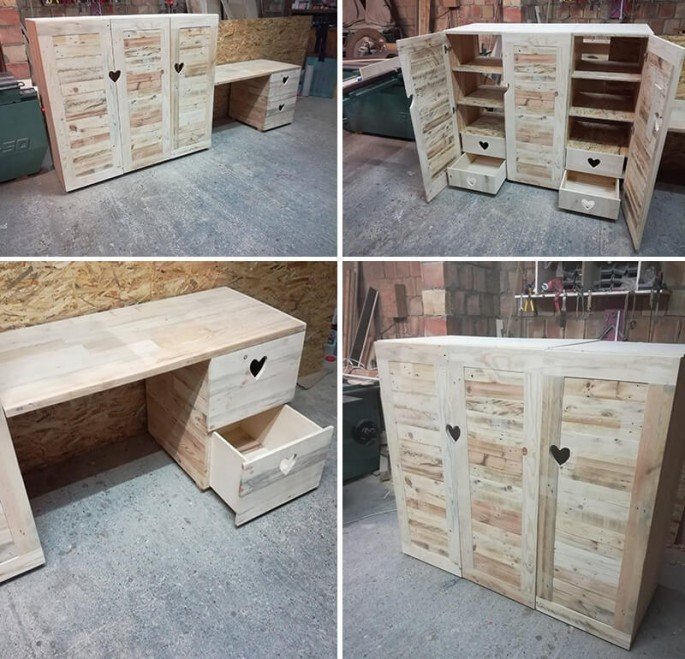 Giant Pallet Cabinets Step By Step Guide