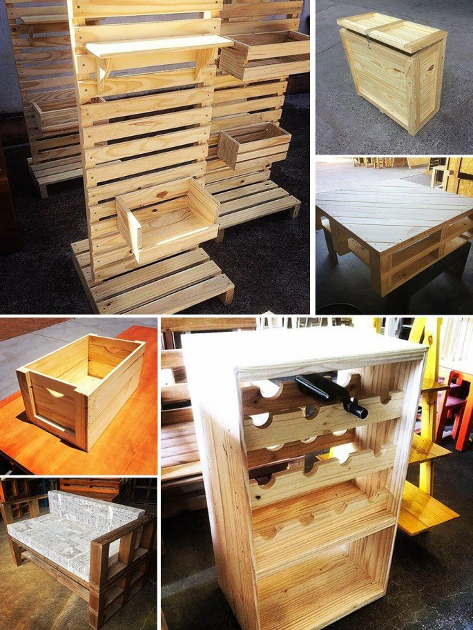 Ingenious And Creative Pallet Project Designs For All The Crafters