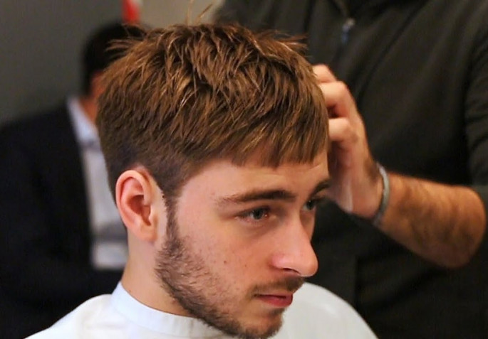 Square Blunt Bangs Texture Cool & Stylish Hairstyles for Men