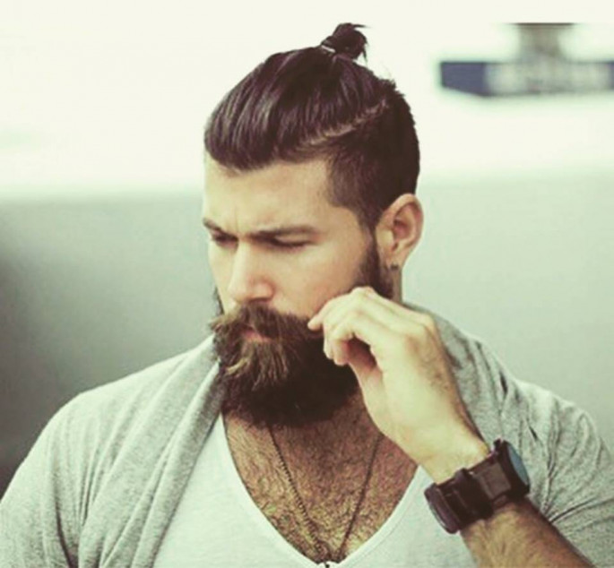mens ponytail hairstyles 2018