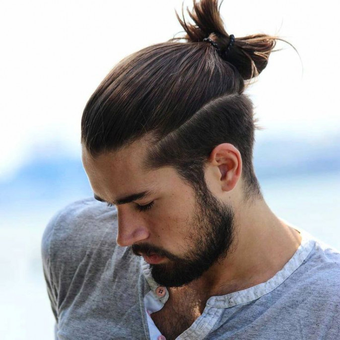 boy ponytail hairstyle