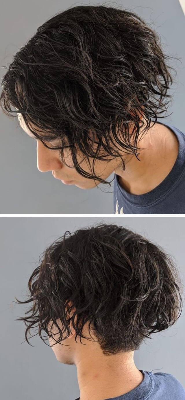 Elegant Curly Bob Hairstyles