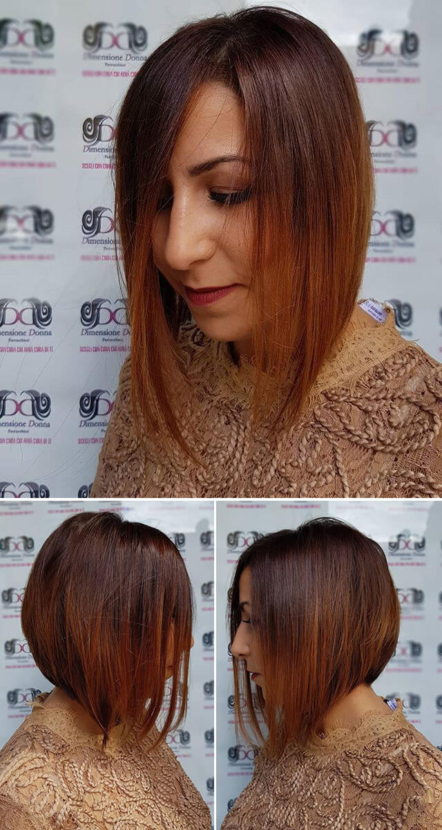 Medium Silky women hairstyles