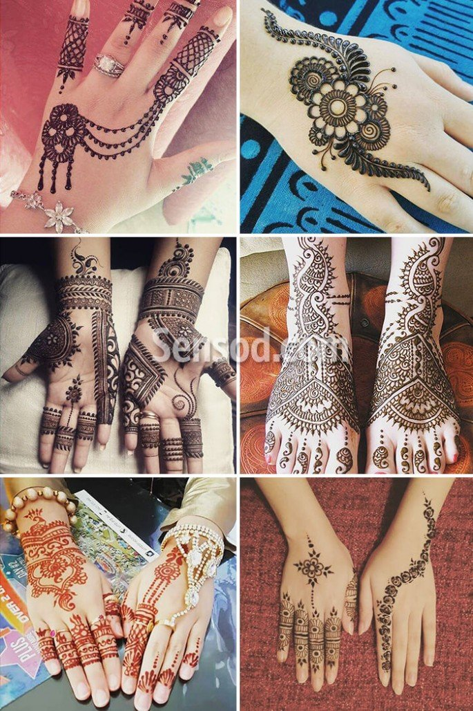 55+ New Mehndi Design Images For Kids