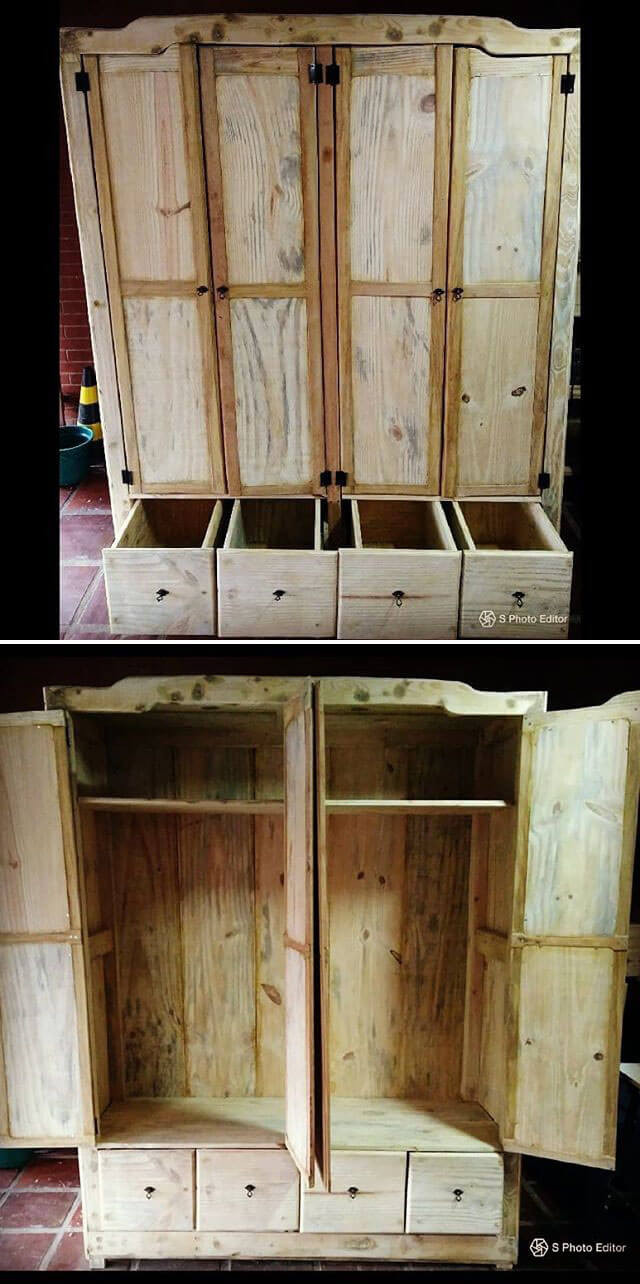 41+ Awesome Easy To Made Rustic Wood Pallet Projects - Sensod