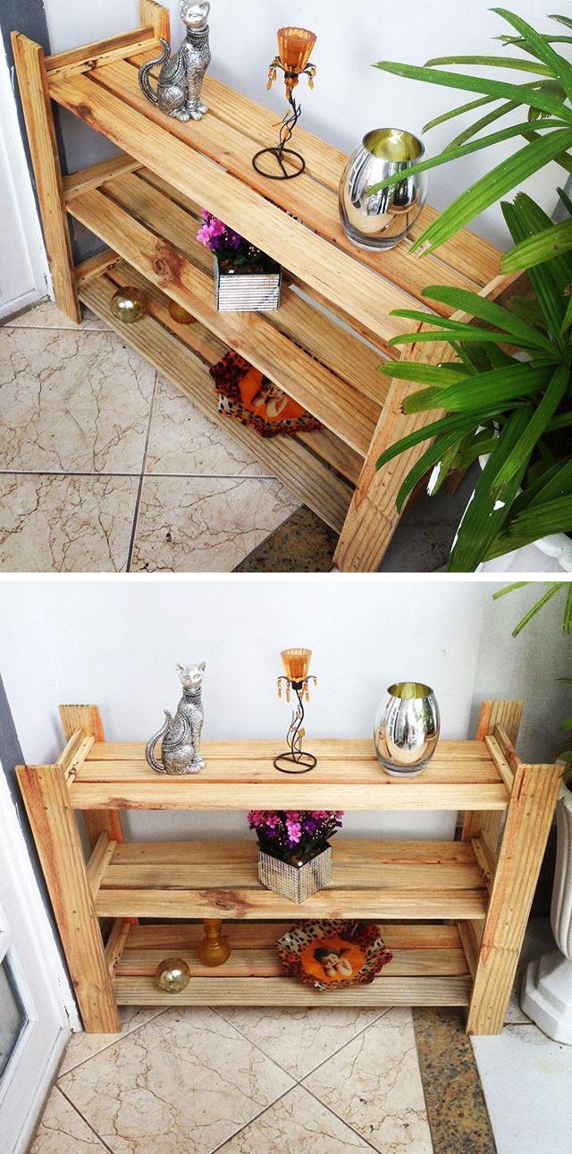 Best 33+ Repurposing Pallet Side Multifunctional Storage Shelf