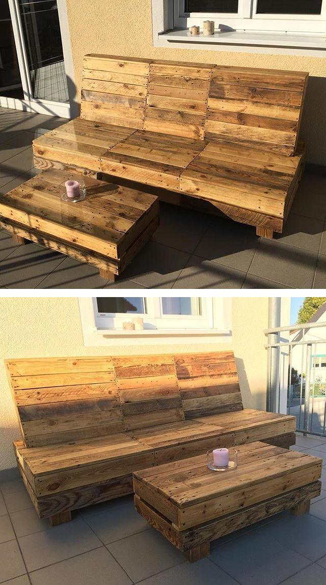 31+ Best Low Price Wood Pallet Bench & Furniture Ideas ...