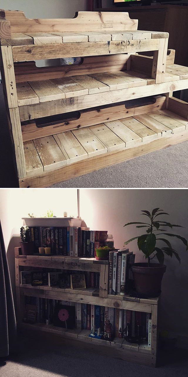 Pallet Storage project desk