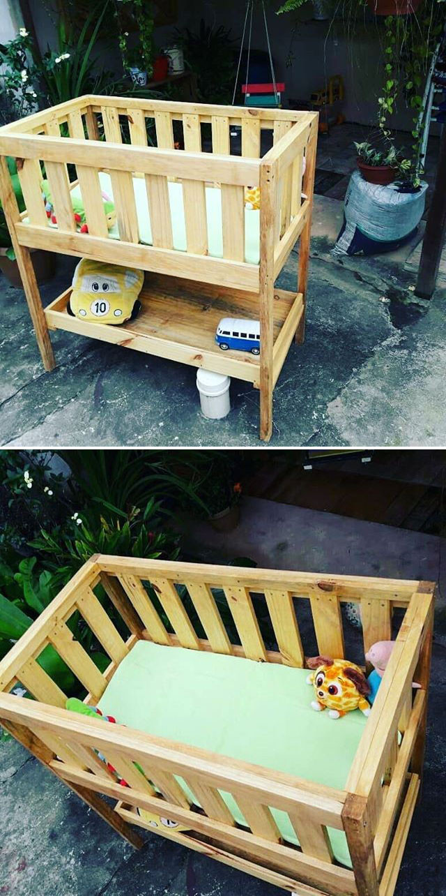 Pallet kid bed furniture