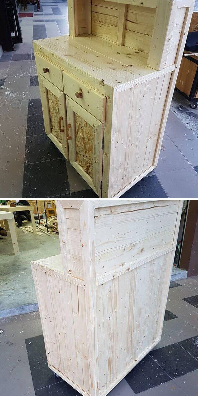 2018 Innovative Ideas For DIY Pallet Storage