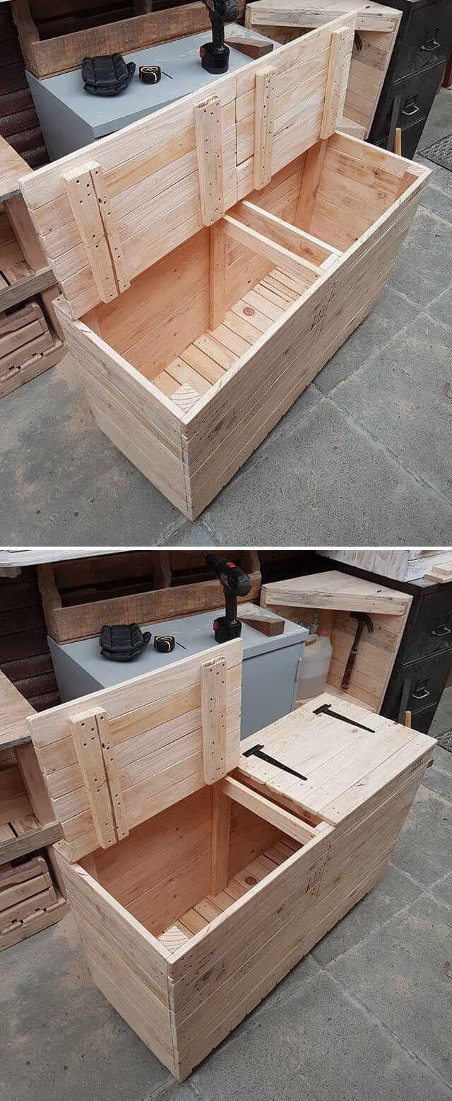 Creative and Unique Wood Pallet Projects Ideas