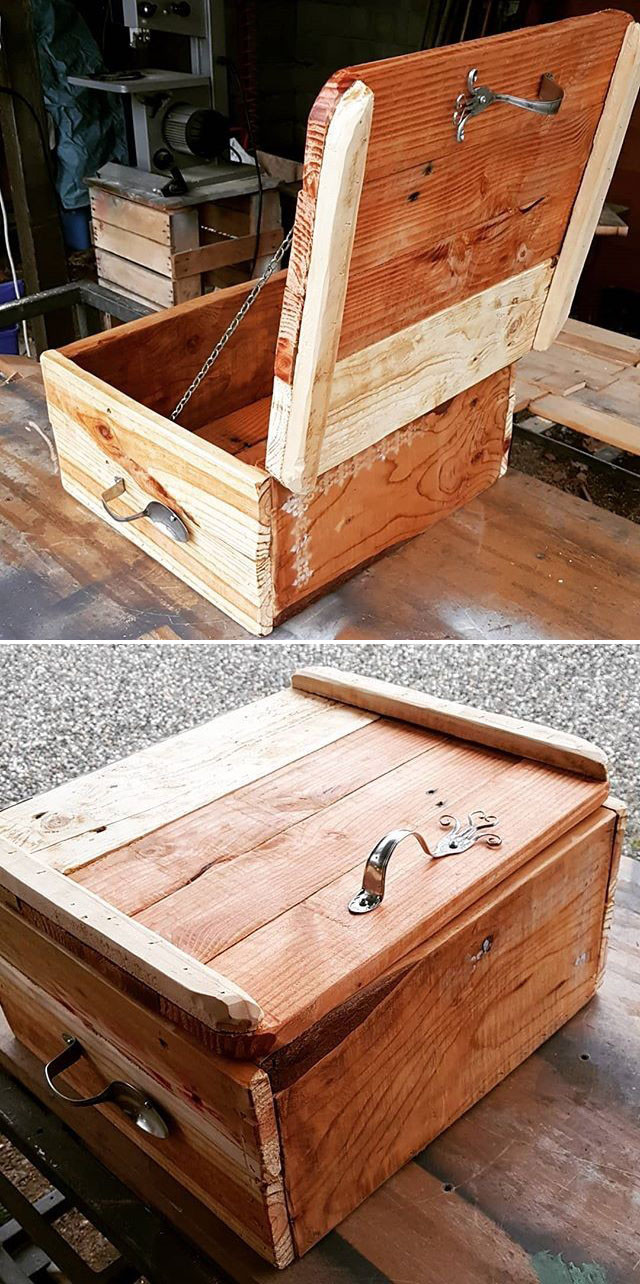 Small Size Recycled Wood Pallet Projects Ideas