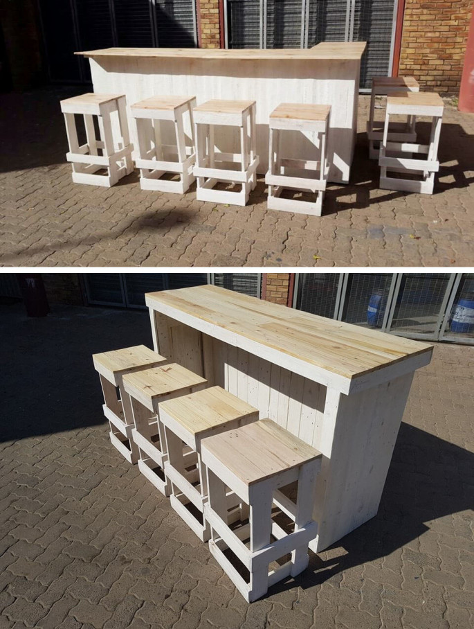 Pallet bar ideas
