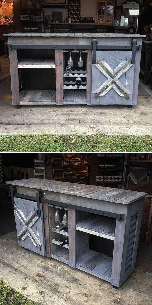 Outdoor DIY Projects Made From Wood Pallets