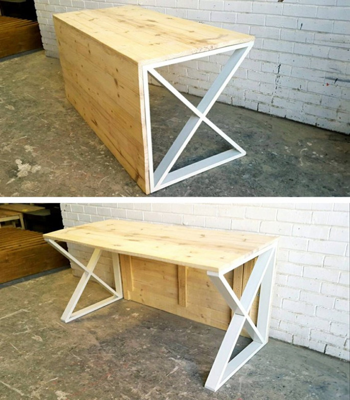 Pallet Side table ideas for office