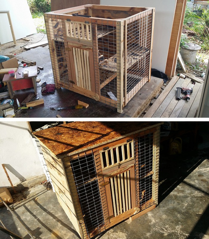 wood pallet house ideas with storage