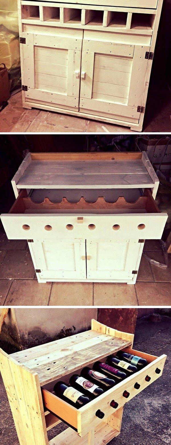7 Classic Wooden Pallet Bar ideas