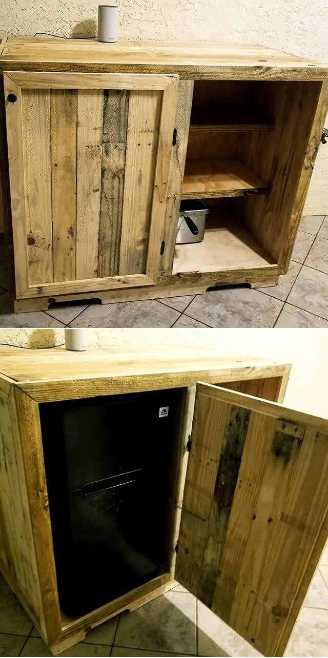 Small Pallet Wood Storage