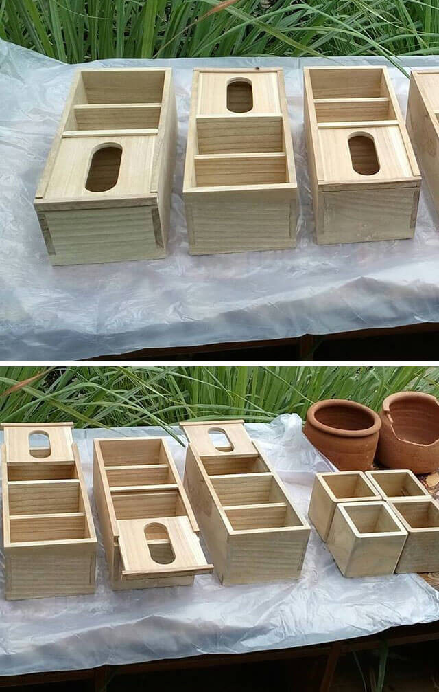 Pallet storage crafts