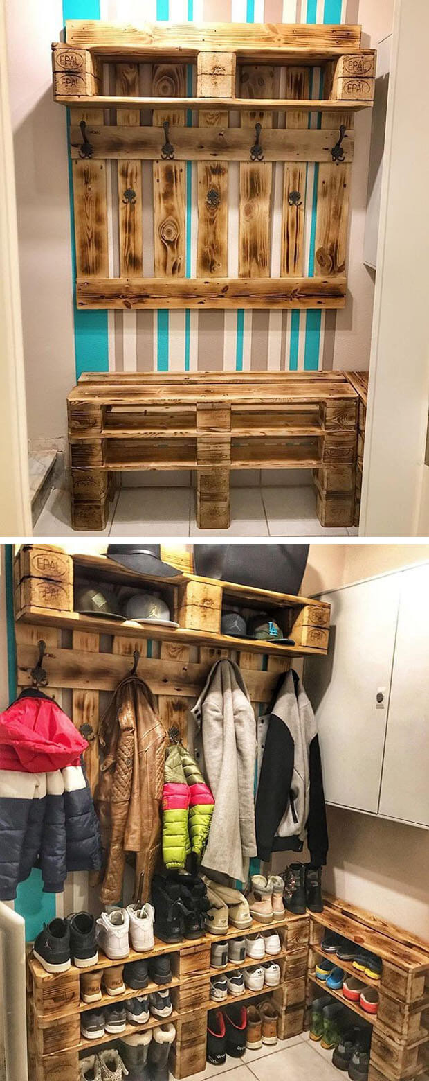 25+ Astonishing DIY Pallet Outdoor Projects - Sensod