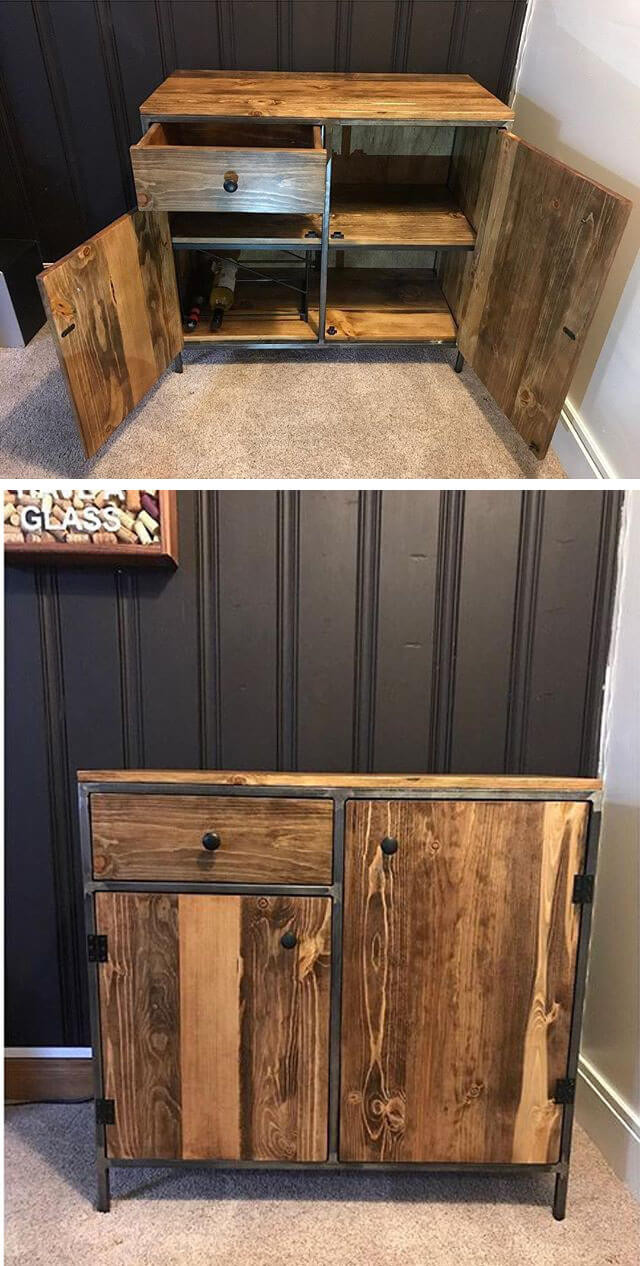 32+ Best Pallet Furniture Cabinets And Wall Art