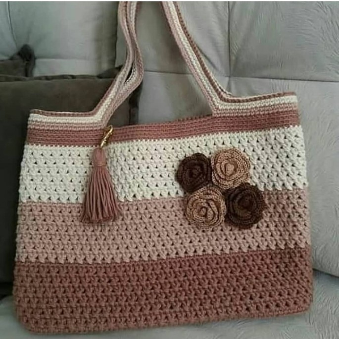 Stylish Single Crochet Pattern Table Decor