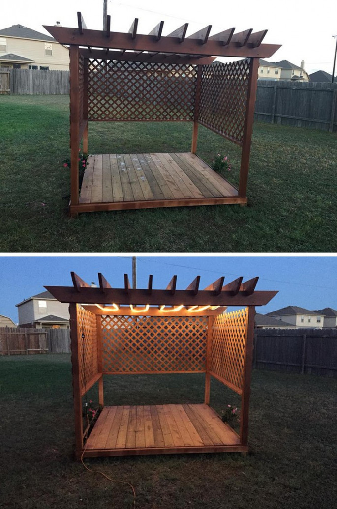 pallet pergola ideas for garden