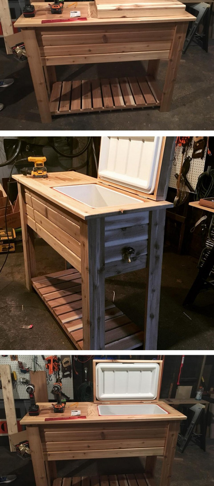 wood Pallet bar ideas