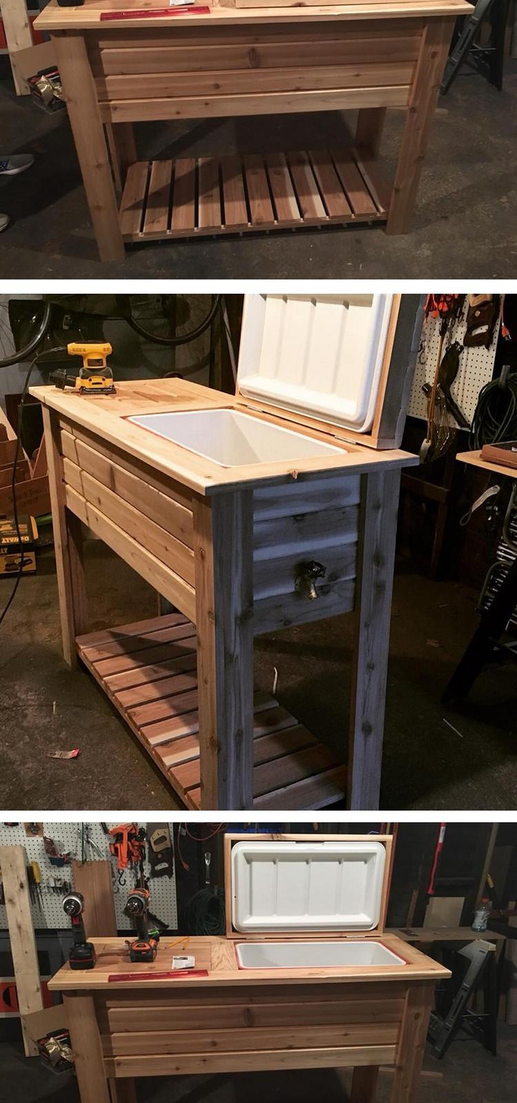 Low Cost DIY Wood Pallet Creations Ideas - Sensod