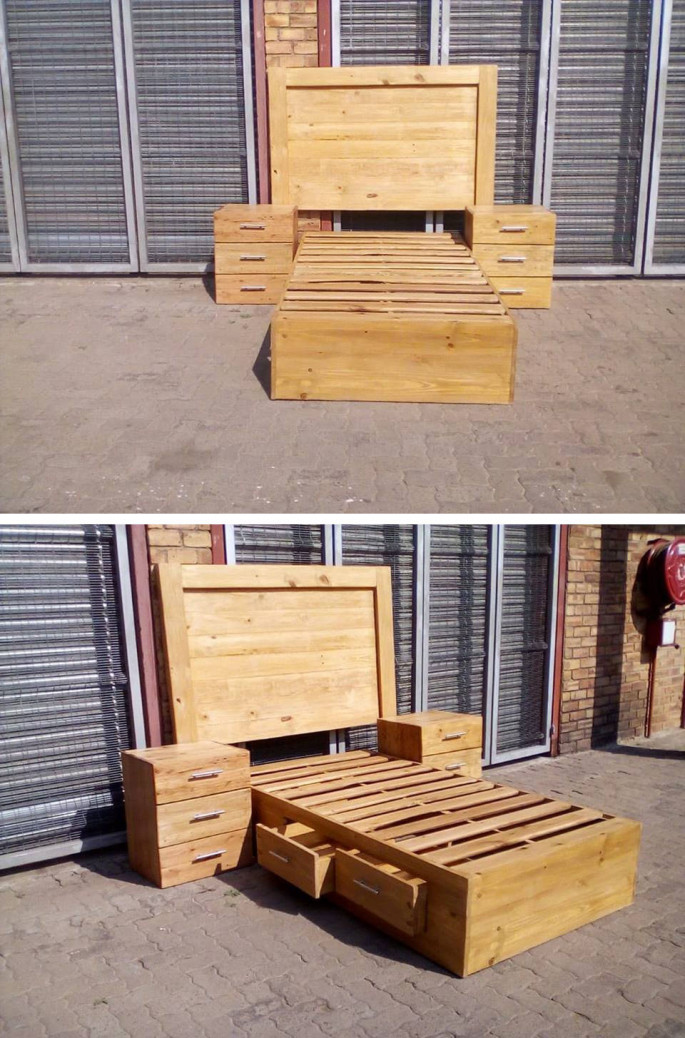 20+ Cool & Unique Recycled Wood Pallet Ideas
