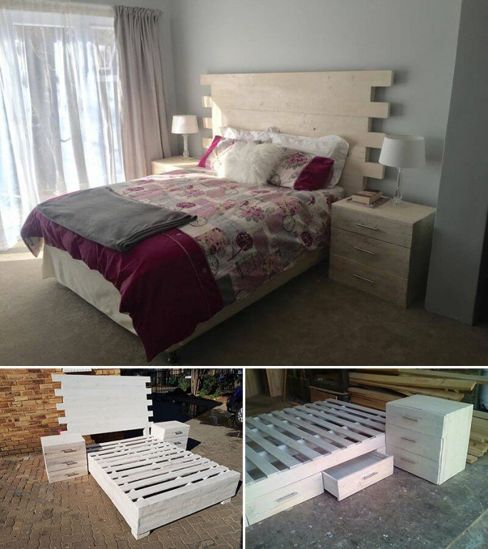 5 Pallet Beds Ideas Easily Made At Home