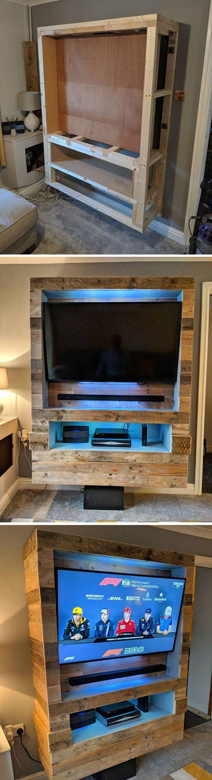 Top 27+ Wood Pallet Cabinets Projects Ideas