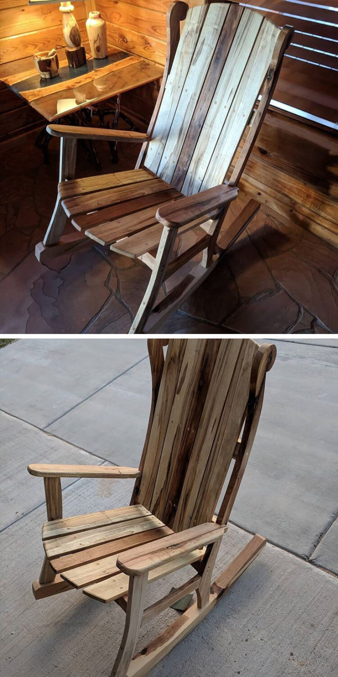 unique pallet chair project ideas