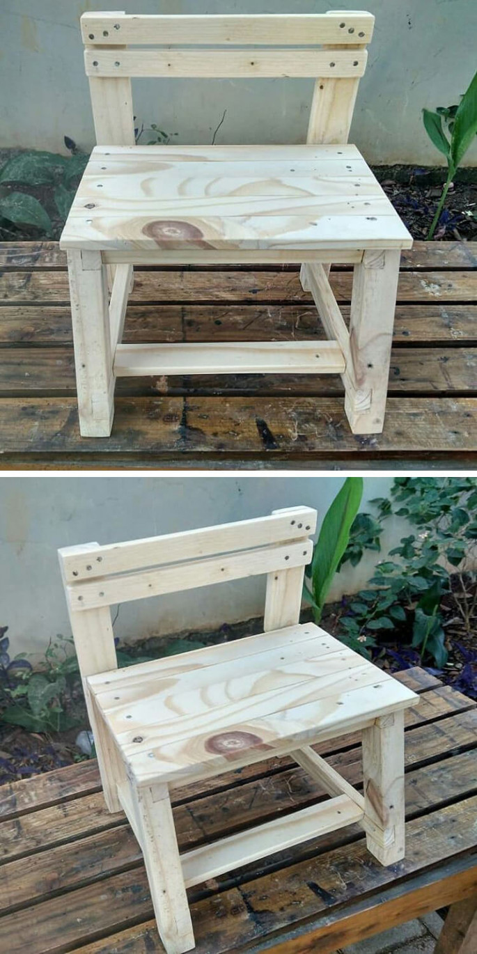 outdoor pallet chair ideas for garden