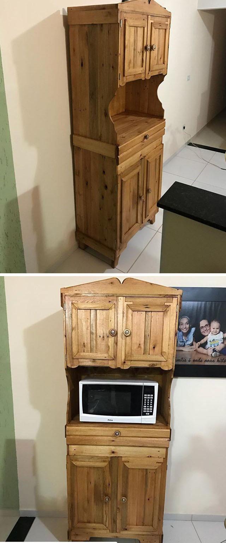 Pallet kitchen furniture