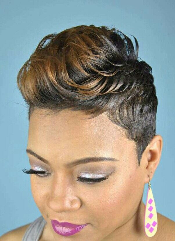 37+ Trendy Short Hairstyles For Black Women - Sensod