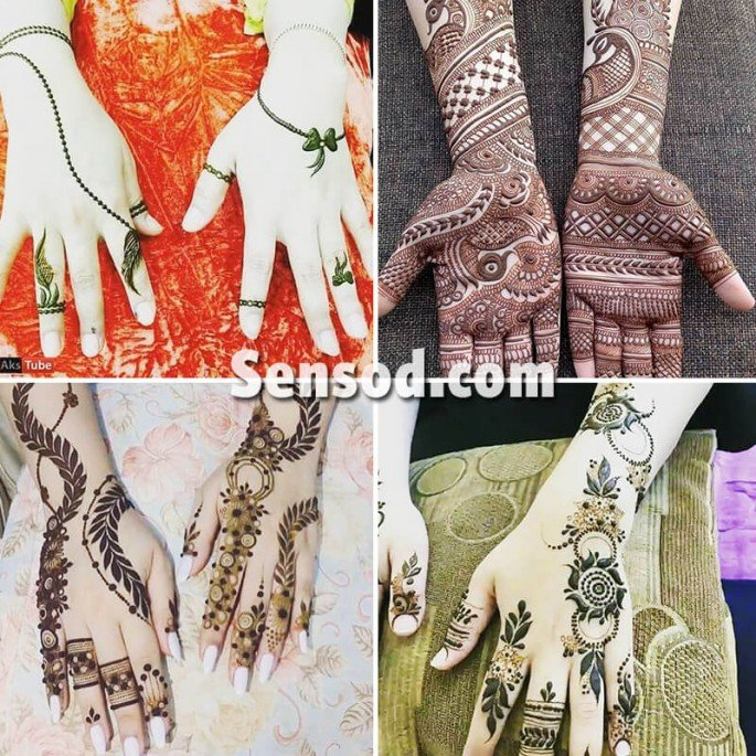 Simple and Unique Latest Mehndi Designs 2018
