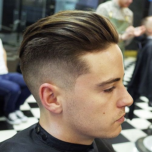 Slicked Back Short Hairstyles for Men with Fine Hair