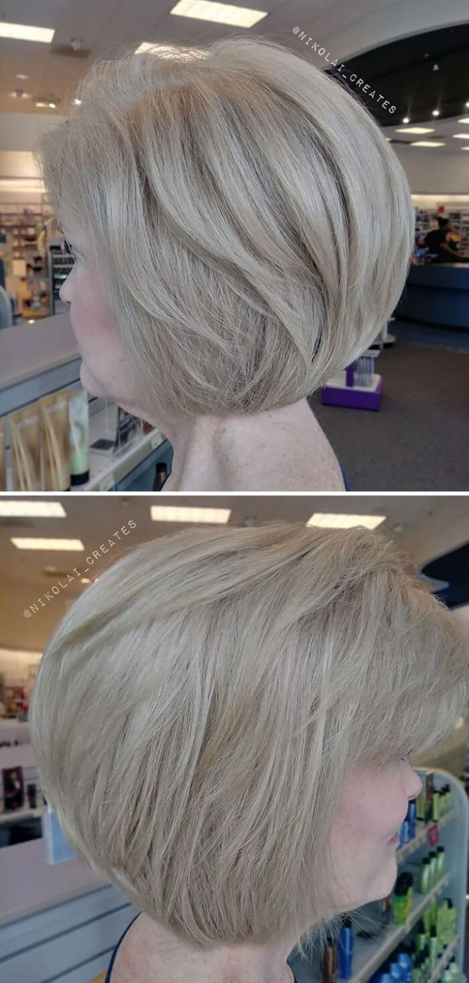 Mix Multi-Layered Hairstyles for Long Hair