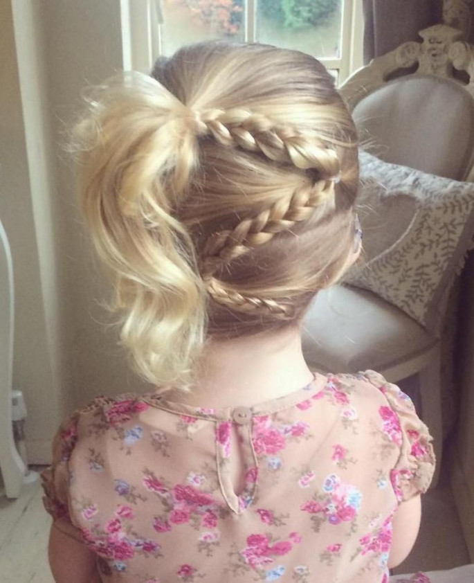 Ponytail Braid Little Girls' Hairstyles For Your Princess