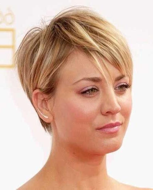 Short Hair Disheveled Hairstyles for Women Over 40s